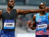 US sprinter Lyles storms to first US 100m title