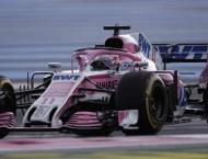 Force India fined over pitlane wheel incident