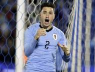 Uruguay's Gimenez ruled out of World Cup group decider