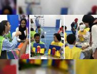 Sharjah Girl Guides lead workshop for children with special needs
