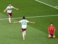 Hernandez hits half-century as Mexico battle past South Korea