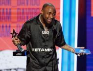 Nigeria's Davido wins BET Award, urges Africa collaboration