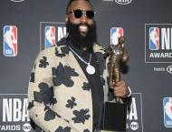 Rockets ace Harden crowned NBA Most Valuable Player