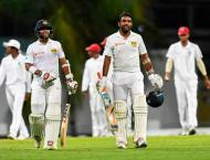 Sri Lanka closing in on victory over Windies