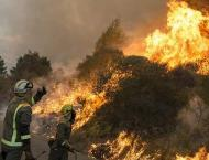 Homes evacuated as wildfire rages in northern England