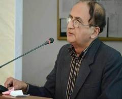 Punjab caretaker Chief Minister Dr Hassan Askari  commiserates with bereaved family of Muhammad Aze ..