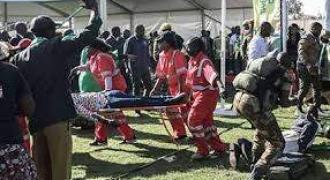 Zimbabwe rally blast injured 41: minister