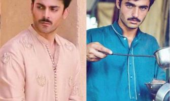 Social media goes crazy over Fawad Khan's resemblance to Chai Wal ..