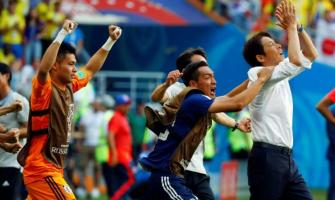 Japan put party on hold after making World Cup history