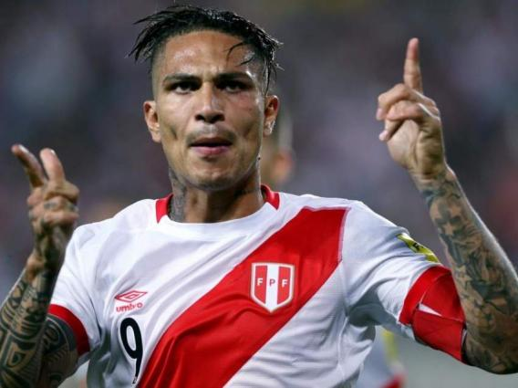 51b6289b22e Cleared Guerrero Heads Perus World Cup Squad - UrduPoint