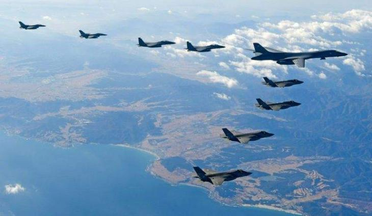Major US military exercises with S.Korea 'suspended indefinitely'