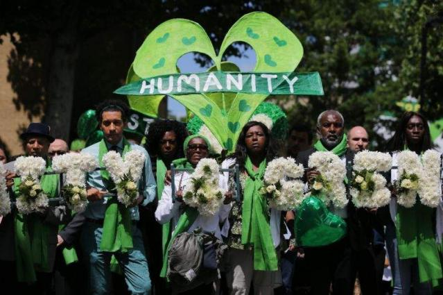 Grenfell mourners united in love and grief