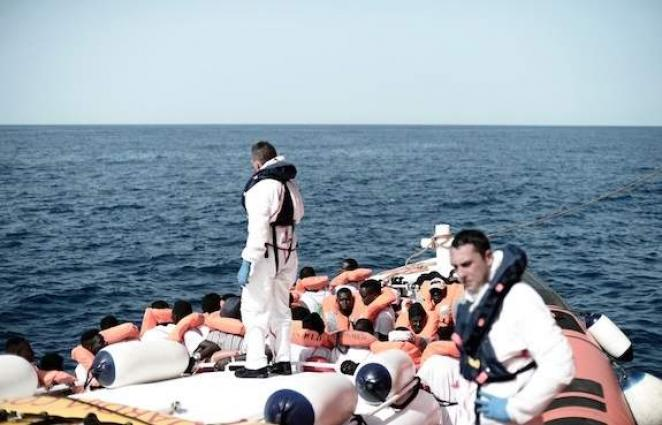Rejected migrant ship is 'symbol of EU's failure': MSF Spain