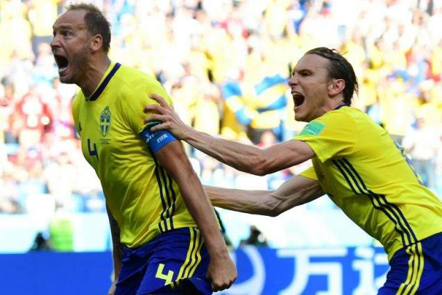 Reviewed penalty lifts Sweden over South Korea