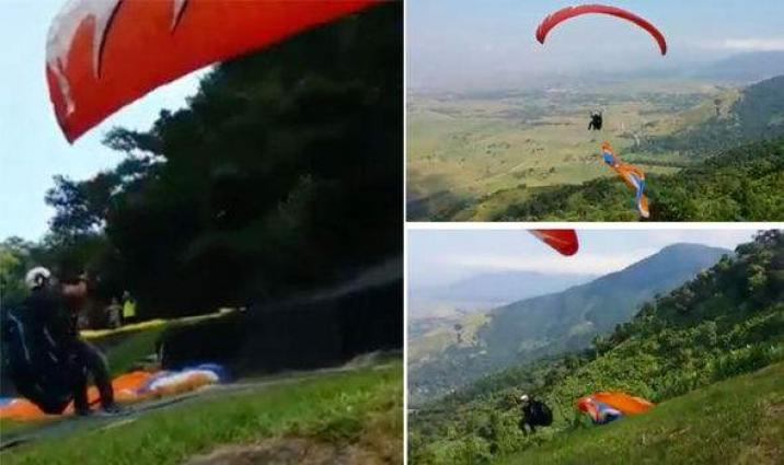 Two Killed In Paragliding Accident In Japan - UrduPoint