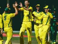 Australia's Stanlake tears through Pakistan top order