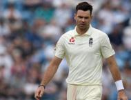 England's Anderson to test injured shoulder ahead of India series ..