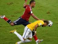 Colombian who broke Neymar and Brazil's hearts retires