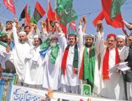 Pakistan Muslim League-N (PML-N), Pakistan Tehreek-e-Insaf (PTI)  ..