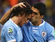 Uruguay's Cavani out of France World Cup quarter-final