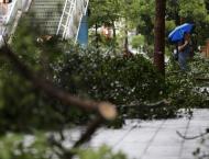 Taiwan spared as Typhoon Maria weakens