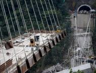 Colombia demolishes bridge after deadly incident