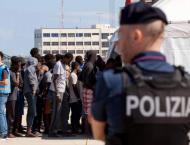 Italy's Salvini refuses to let migrants on coastguard ship disemb ..