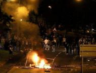 Police targeted in sixth night of violence in N. Ireland