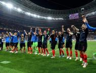 France play Croatia in the World Cup final at Moscow's Luzhniki S ..