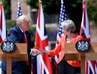 Trump hails ties with UK despite Brexit criticism