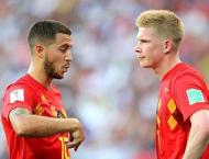Belgium v England World Cup starting line-ups