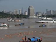 Swedish man, Chinese woman triumph in Yangtze River swim