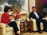 Chinese president meets UNESCO DG