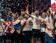 Croatians hail returning World Cup squad
