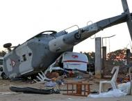 Five dead in S. Korea military helicopter crash