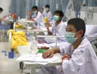 Thai cave boys to leave hospital, speak to media