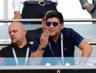 Maradona grateful for reception in Belarus