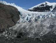 Artificial lake created after glacier melt affects locals