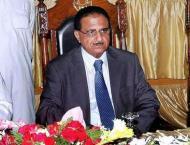Caretaker Chief Minister Khyber Pakhtunkhwa Dost Muhammad Khan ca ..