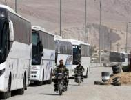 Syria: evacuations from besieged, battered areas
