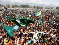 Kashmiri people observed Accession to Pakistan Day
