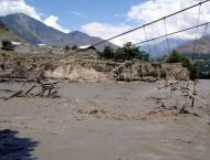 Relief work expedited in flood-affected areas in Gilgit