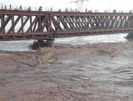 River Kabul runs in low, medium flood: Federal Flood Commission  ..