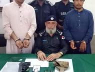 KP police arrest culprits of animal abuse
