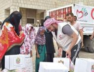 ERC delivers food baskets to liberated areas in Lahej, Yemen