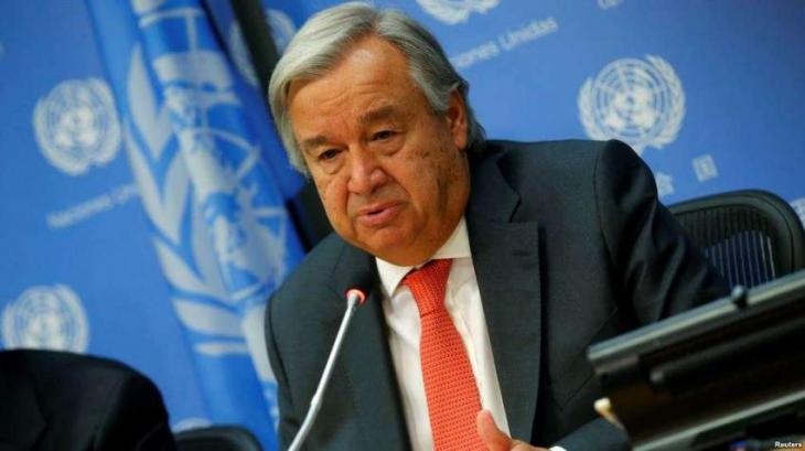 Nuclear non-proliferation treaty a 'pillar' of world peace: United Nations Secretary-General Antonio Guterres