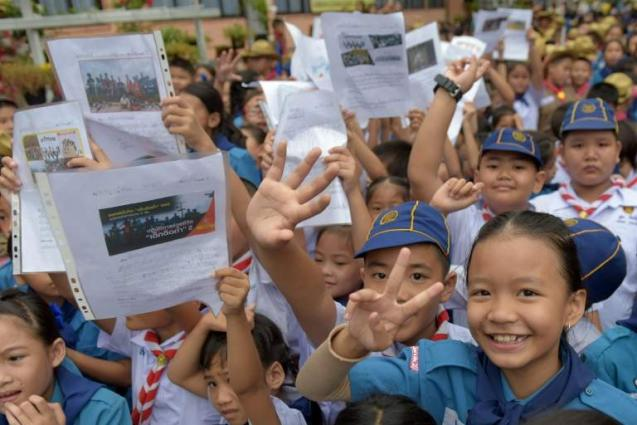 Thai cave boys, coach invited to Spain to see football 'heroes'