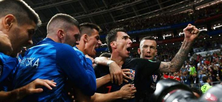 WC 2018: Mandzukic sends irrepressible Croatia into first World Cup final
