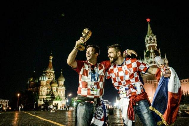 Exhausted Croatia train sights on France in World Cup final