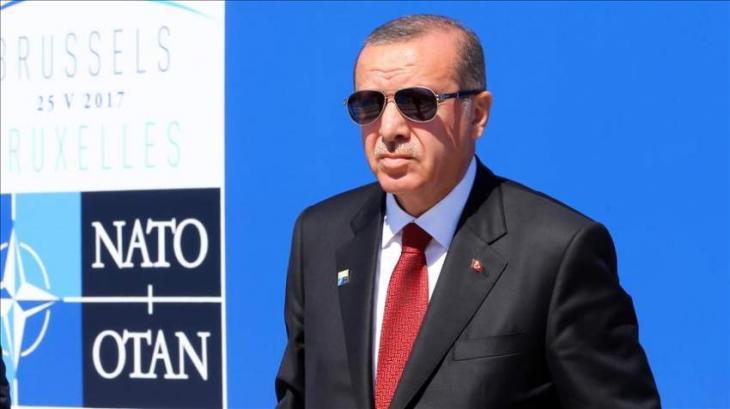 Erdogan meets world leaders on sidelines of NATO summit